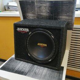 Музыкальные CD и аудиокассеты - Сабвуфер автомобильный Kicker CVT124, 0