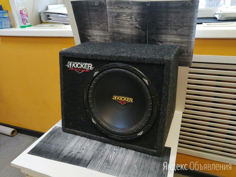 Сабвуфер автомобильный Kicker CVT124 по цене 6000₽ - Музыкальные CD и аудиокассеты, фото 0
