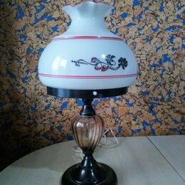 Настольные лампы и светильники - Советская настольная лампа , 0