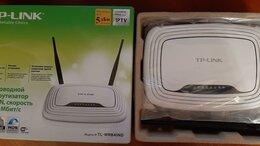 Оборудование Wi-Fi и Bluetooth - Wi-Fi роутер TP-link TL-WR841ND, 0