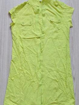 Платья - Платье зеленое. Б/у, состояние хорошее., 0