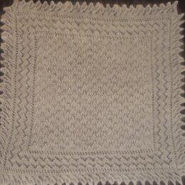 Накидки - Белый пуховый платок.отличный подарок дамам, 0