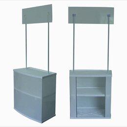 Рекламные конструкции и материалы - Стойка ресепшн, промостойка прямоугольная,…, 0
