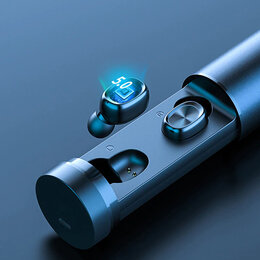 Наушники и Bluetooth-гарнитуры - Наушники гарнитура BTH-241 Кейс цилиндр, 0