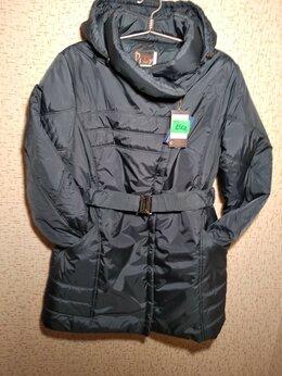 Пальто - Новое зимнее полупальто 50 размера от ДиВей Москва, 0