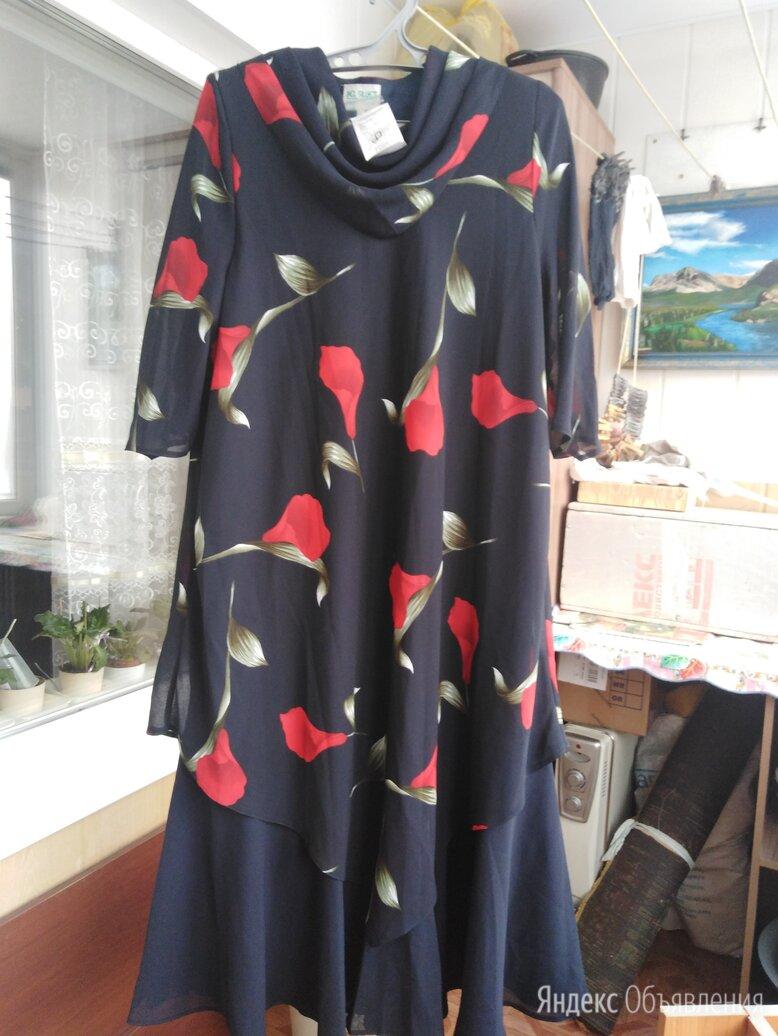 Платье вечернее новое с этикеткой  размер 54 /56 рост 160 ~170 по цене 1500₽ - Платья, фото 0