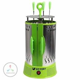 Электрические грили и шашлычницы - Электрошашлычница Kitfort KT-1402, 0