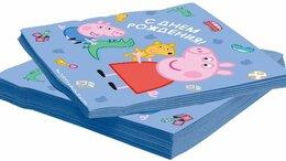 Скатерти и салфетки - Салфетки Свинка Пеппа, 33*33см, 20шт, 0