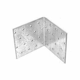 Перфорированный крепеж - Крепежный уголок равносторонний 80*80*80мм (KUR), 0