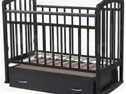 Кроватки - Детская кроватка Антел 4, с маятником и ящиком, 0