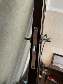 Межкомнатные двери - Двери межкомнатные- сосна  шпон венге с матовым…, 0