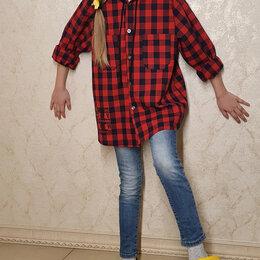 Рубашки и блузы - Рубашка в клетку для девочки, 0