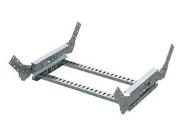 Кабеленесущие системы - DKC Угол вертик. лестничный 150х400, горячий цинк, 0