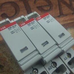 Защитная автоматика - Контактор ABB ESB20-20 модульный,  катушка 230В AC/DC, 0