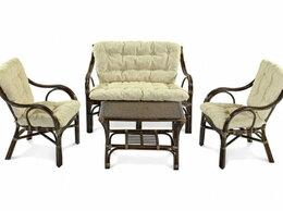 Плетеная мебель - Комплект для отдыха Makita кофейный, 0