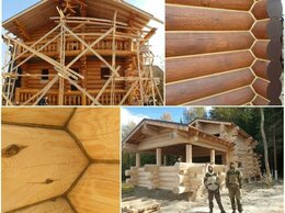 Архитектура, строительство и ремонт - Тёплый шов, шлифовка сруба, покраска сруба, 0