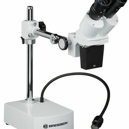 Микроскопы - Микроскоп стереоскопический Bresser Biorit ICD CS 5–20x LED, 0