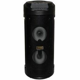 Акустические системы - Колонка портативная KIMISO KMS-6681 черный + микрофон, 0