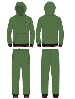Спортивные костюмы и форма - Детские спортивные костюмы цвета хаки хлопковые…, 0