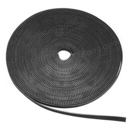 Расходные материалы - Лента зубчатая GT2-10mm, черная, 1 метр с…, 0