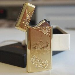Пепельницы и зажигалки - Зажигалка USB Москва, 0