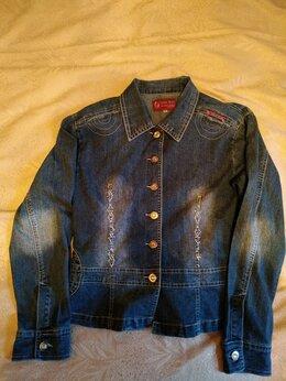 Пиджаки - Джинсовая куртка женская, 0