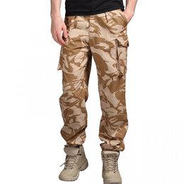 Одежда и обувь - Брюки полевые WindProof армии Великобритании, DesertDPM, 0