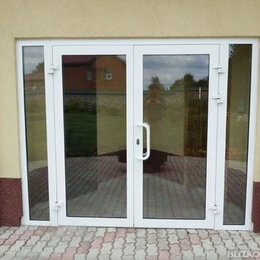 Входные двери - Алюминиевая входная дверь новая с установкой.…, 0