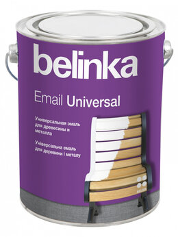 Пропитки - Belinka Email Universal B3 2,7 л. Полуматовая, 0
