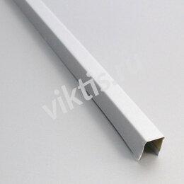 Профиль для плитки - П- Профиль 14x14 металлик с мет. полосой  В22 Art L=3м (алюм.), 0