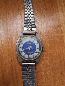 Наручные часы - Винтажные часы: часы Заря 19 камней СССР, 0
