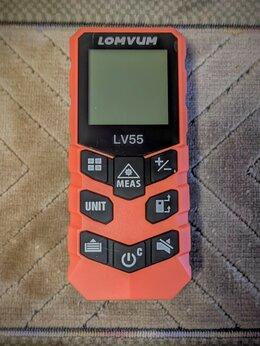 Измерительные инструменты и приборы - Лазерный дальномер рулетка lomvum LV55, 0
