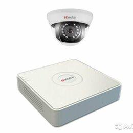 Камеры видеонаблюдения - Комплект видеонаблюдения hiwatch на 1 камеру 1080p, 0