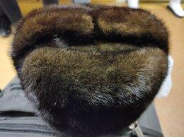Головные уборы - Натуральная норковая новая мужская шапка, 0