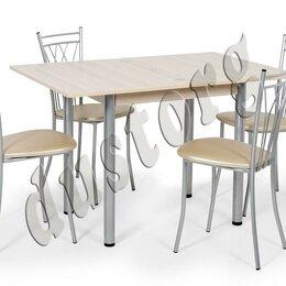 Мебель для кухни - Стол со стульями новый в рассрочку с доставкой, 0