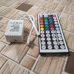 Светодиодные ленты - Контроллер RGB  (12V- 72W- 6A) c большим пультом, 0