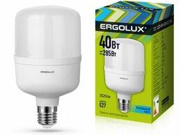 Лампочки - Светодиодная лампа E27 40W 4500K Ergolux…, 0