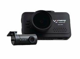 Видеорегистраторы - Видеорегистратор VIPER X-Drive Wi-FI Duo c…, 0