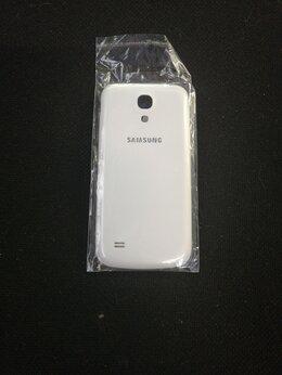 Корпусные детали - Задняя крышка для Samsung s4 mini белая, 0
