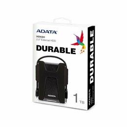 Внешние жесткие диски и SSD - Внешний HDD Adata DashDrive Durable HD680 1 Тб, 0