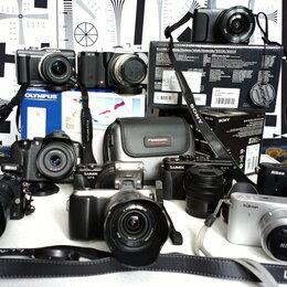 Фотоаппараты - 12 Беззеркалок, 20 объективов (автофокусные и мануальные), 0