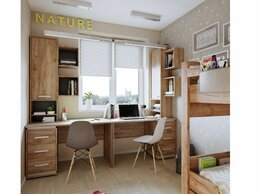 Кровати - Молодежная комната NATURE. Комплект 1, 0