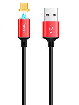 Зарядные устройства и адаптеры - Кабель USB Lightning 8Pin HOCO U28 Magnetic 1м…, 0