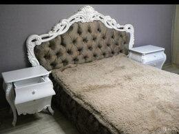 Кровати - Кровати с мягким изголовьем в каретной стяжке, 0