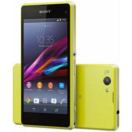 Мобильные телефоны - Sony Xperia Z1 Compact D5503 (Lime), 0