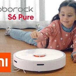 Роботы-пылесосы - Робот-пылесос Xiaomi Roborock S6 Pure(RUS), 0