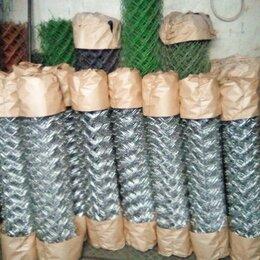 Заборчики, сетки и бордюрные ленты - Сетка рабица оцинкованная Тейково, 0