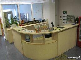 Мебель для учреждений - Стойка администратора БОЛЬШАЯ, Г-образная, с…, 0