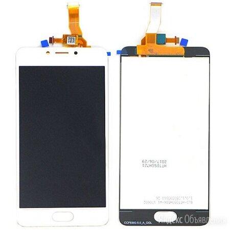 Дисплей для Meizu M5c в сборе с тачскрином (белый) по цене 1260₽ - Дисплеи и тачскрины, фото 0