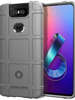 Чехлы - Чехол для Asus ZenFone 6 (ZenFone 6Z) цвет Gray…, 0
